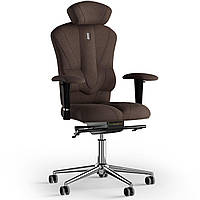 Кресло KULIK SYSTEM VICTORY Ткань с подголовником без строчки Шоколадный 8-901-BS-MC-0504, КОД: 1668958