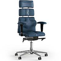 Кресло KULIK SYSTEM PYRAMID Антара с подголовником со строчкой Кобальтовый 9-901-WS-MC-0304, КОД: 1669067