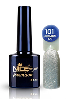 Гель-лак с эффектом кошачьего глаза 8,5 мл, Premium Nice №101