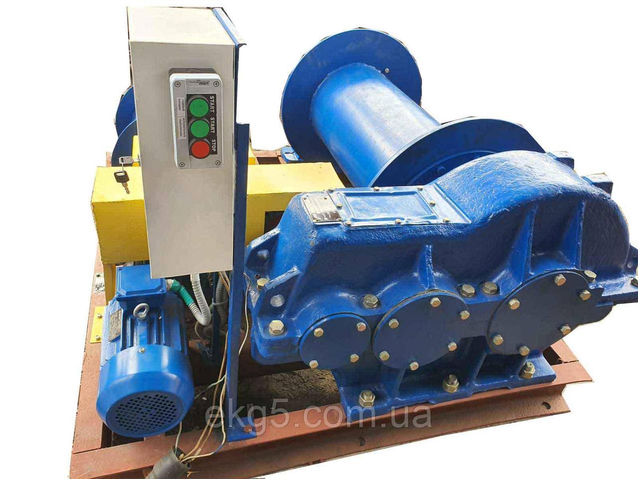 Лебедка электрическая специальная ТЛ-8Б