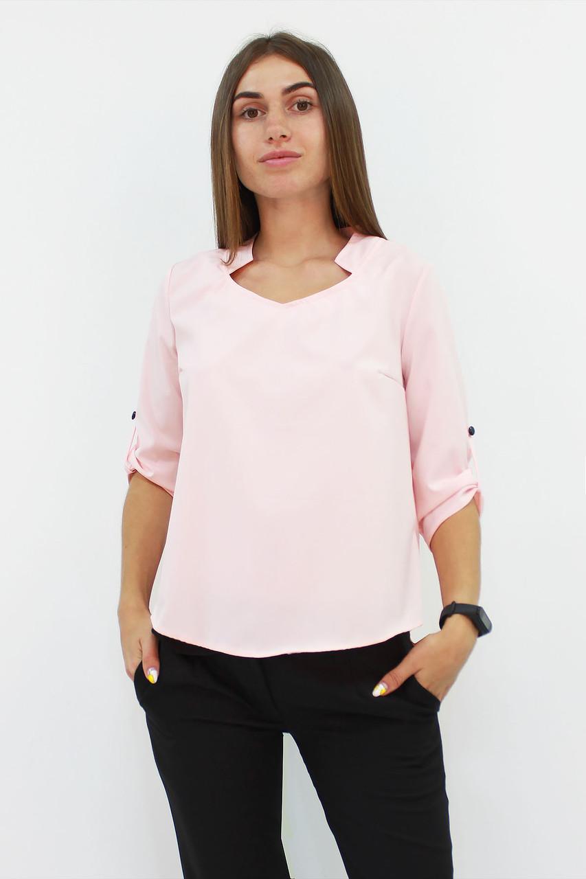 Стильная женская блузка Rina, персиковый