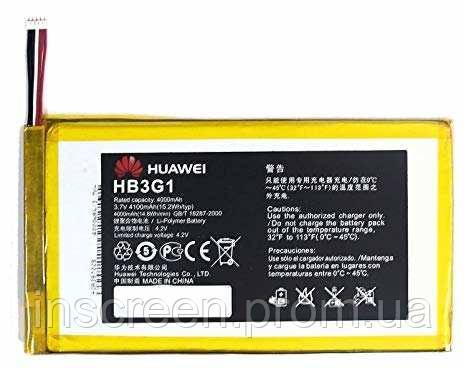 АКБ (Аккумулятор) Huawei HB3G1 для Huawei MediaPad T1 7.0 T1-701u 4000mAh, фото 2