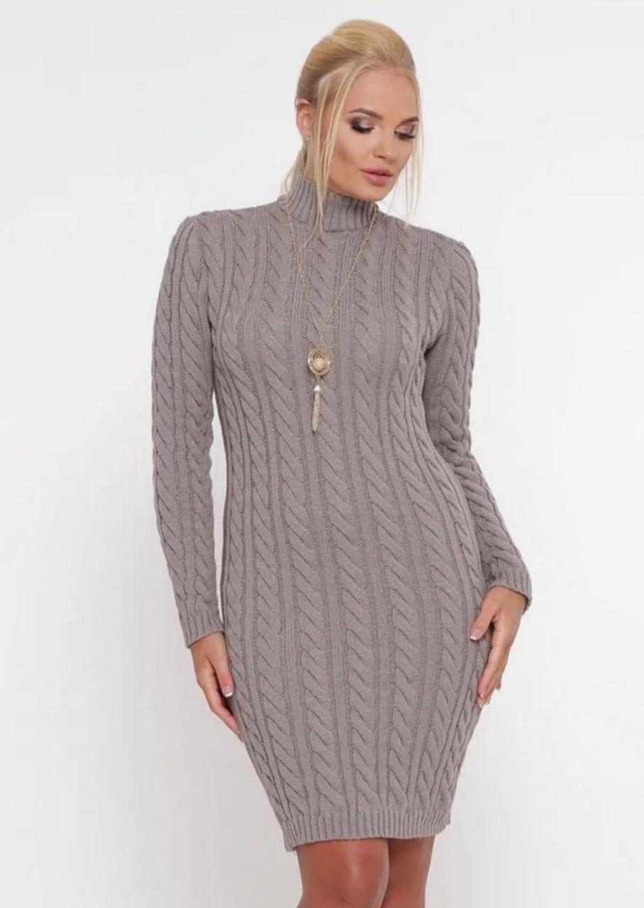 Женское зимнее платье
