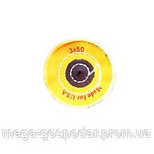 """Круг полировальный муслиновый желтый d-70мм 3""""x50 слоёв"""