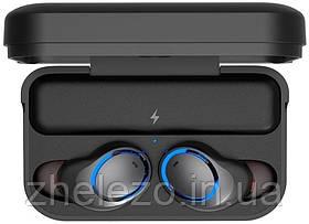 Bluetooth-гарнітура Awei T3 Twins Earphones Black (F_82776), фото 3