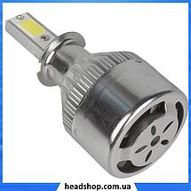 Комплект автомобільних LED ламп C6 H3 - Світлодіодні лампи, Автолампи, Ближнє, дальнє світло, Автосвітло, фото 2