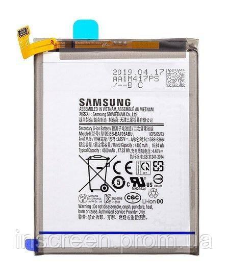 АКБ (Аккумулятор) Samsung EB-BA705ABU для Samsung Galaxy A70 2019 A705F 2600 mAh