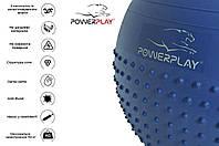 М'яч для фітнеса і гімнастики PowerPlay 4003 65см lilac (FO83PP_4003_D65_Lilac)