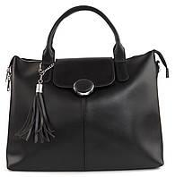 Зручна містка стильна міцна жіноча сумка KISS ME art. K29 черн, фото 1