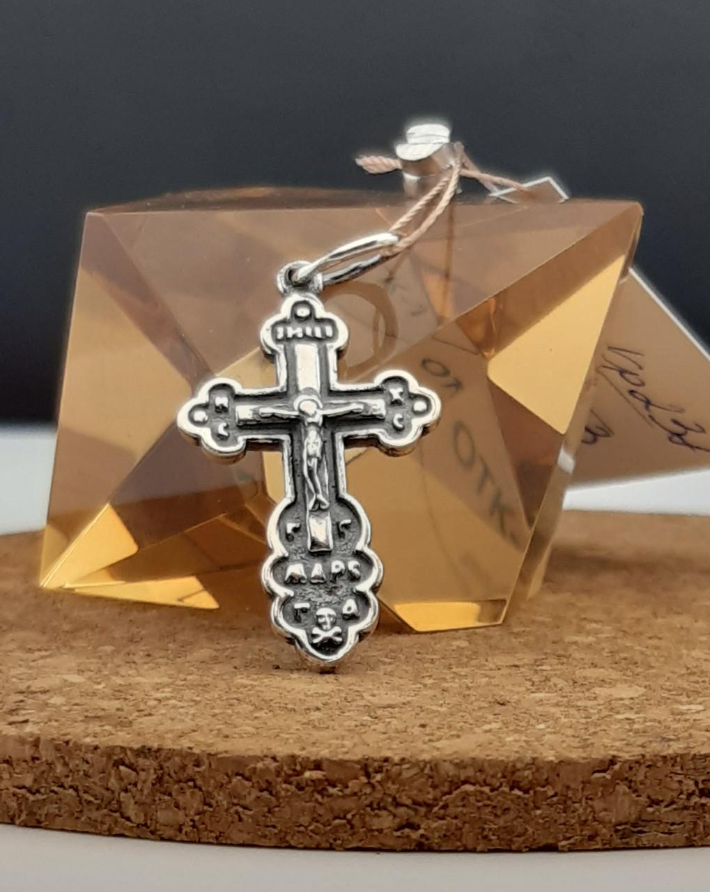 Серебряный крест Арт. Кр - 237