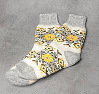 Женские носки, тёплые носки, вязанные носки, розмер 37-39, фото 1