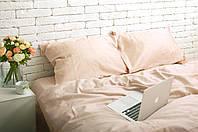 Комплект постельного белья Хлопковые Традиции Полуторный 155x215 Персиковый SE012полуторный, КОД: 740716