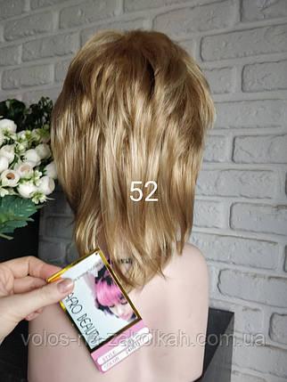 Парик короткая стрижка светлорусый блондин, фото 2
