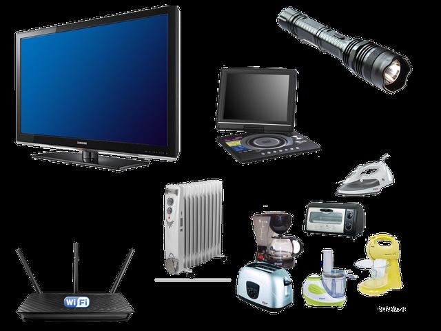 Бытовая техника, Электроника