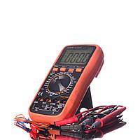 Мультиметр цифровой Victor VC9808+ термопара, True RMS, защитный чехол, подсветка дисплея, фото 1