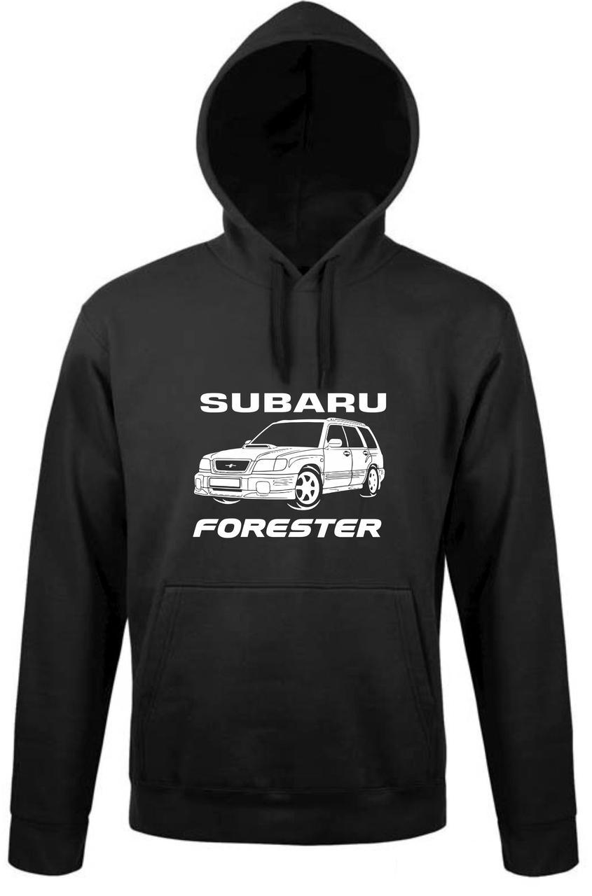 Реглан с капюшоном Subaru Forester
