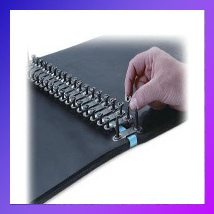 Стикування конвеєрних (транспортерних) стрічок за допомогою механічних з'єднувачів