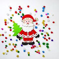 """Детская развивающая игрушка шнуровка """"Санта Клаус"""", фото 1"""