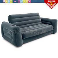 Intex 66552 Надувной раскладной диван Intex 203х224х66 см Трансформер