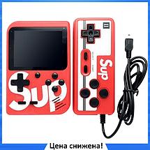 Игровая приставка SUP Game Box 400в1 - Приставка Dendy для двух игроков, с джойстиком, с подключением к ТВ, фото 2