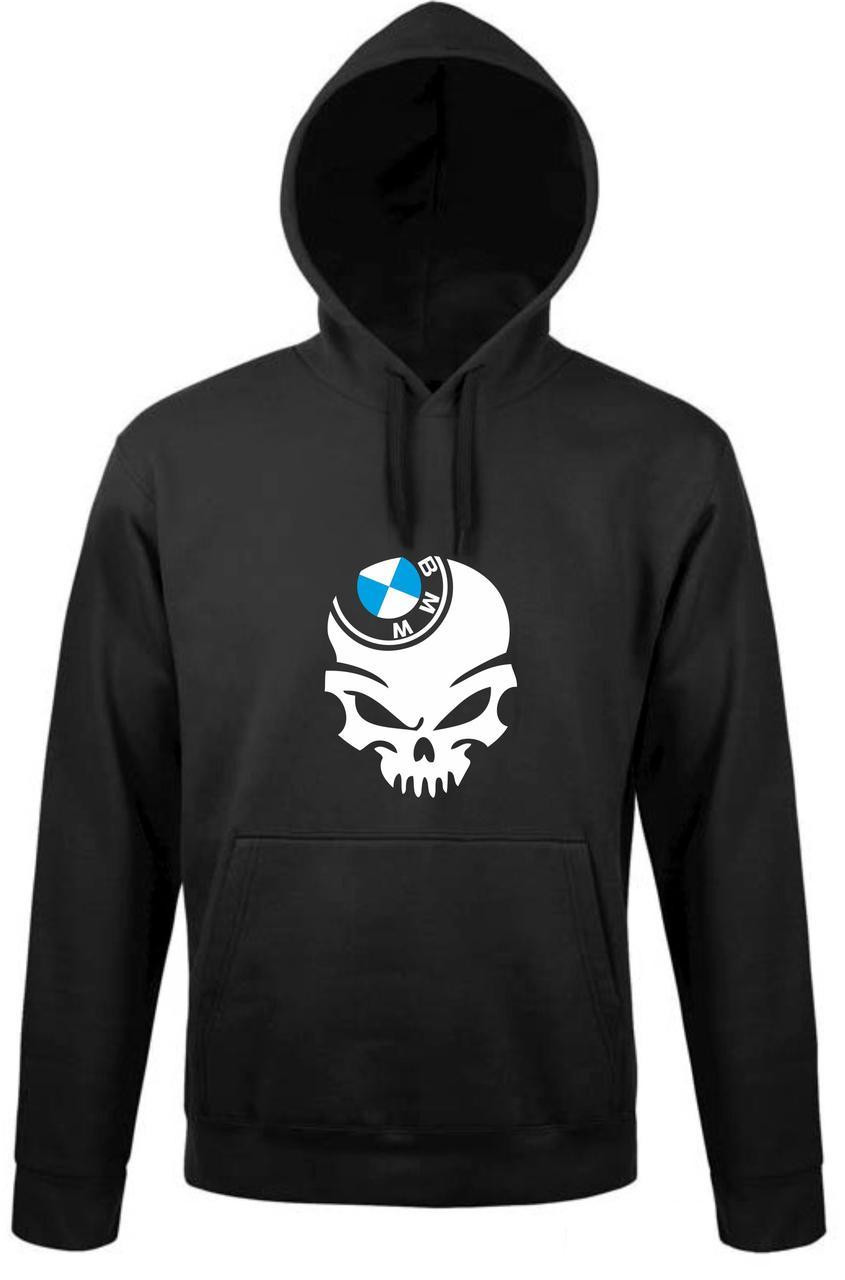 Реглан с капюшоном BMW skull