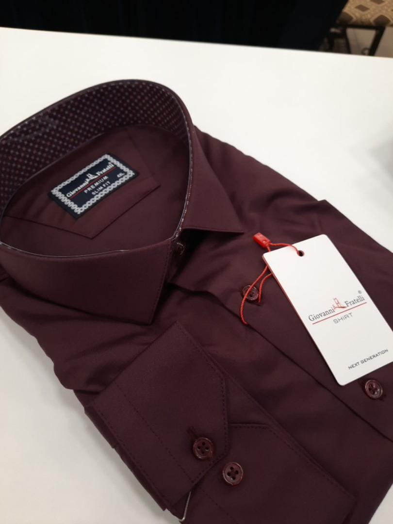 Рубашка мужская ботал премиум Giovanni Fratelli приталенная