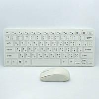 Комплект беспроводная клавиатура и мышь K03 для компьютера с защитной пленкой, фото 1