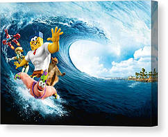 КартинаGeekLandГубка Боб Квадратные Штаны SpongeBob SquarePants Губка из воды60х40 РС 09.03