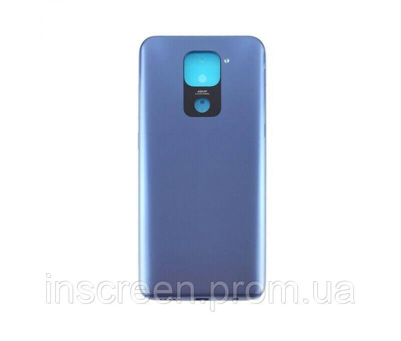 Задняя крышка Xiaomi Redmi Note 9 Midnight Grey синяя, серая