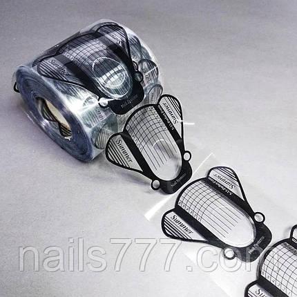 Формы для ногтей Мухи силиконовые, 50 шт, фото 2