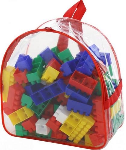 Блочный конструктор для детей.Игровой набор конструктора.Конструктор детский 100 деталей
