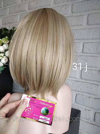 Парик короткая стрижка короткий парик пепельный Япония, фото 2