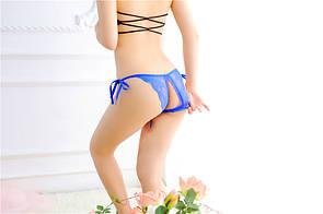 Трусики з розрізом на зав'язках сексуальне білизна еротична білизна