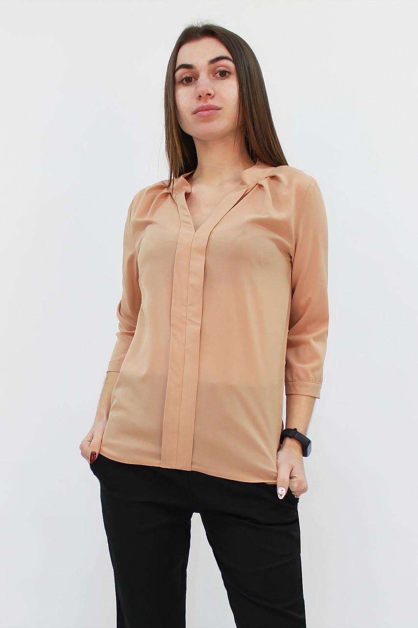 Классическая женская блузка Kary, бежевый