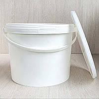 Пластиковое Ведро 10л с крышкой