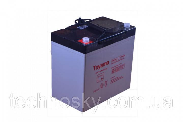 Гелевая батарея Toyama NPG 60-12 (12В , 60Ач)