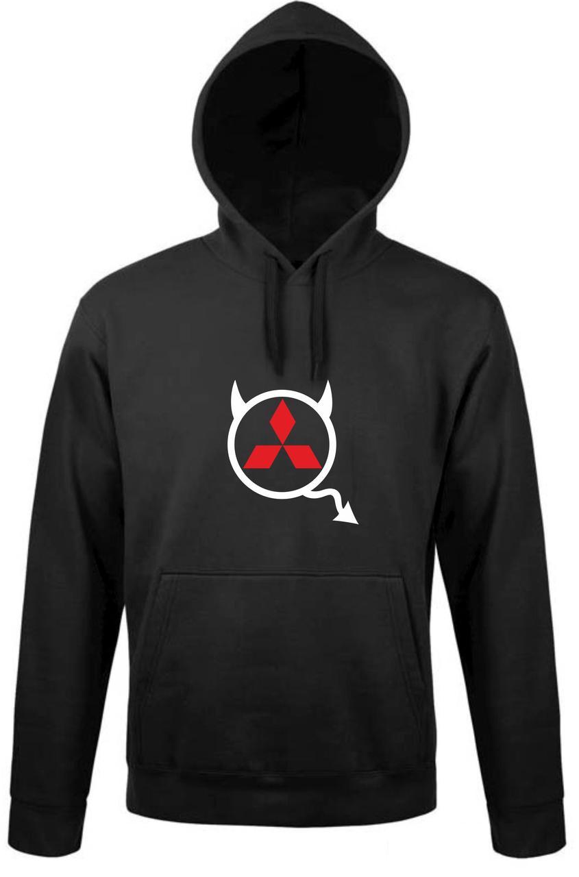 Реглан с капюшоном Misubishi devil