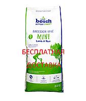 Bosch Breeder Mini Lamb & Rice 20кг для собак мелких пород с ягненком (Бесплатная доставка по всей Украине)