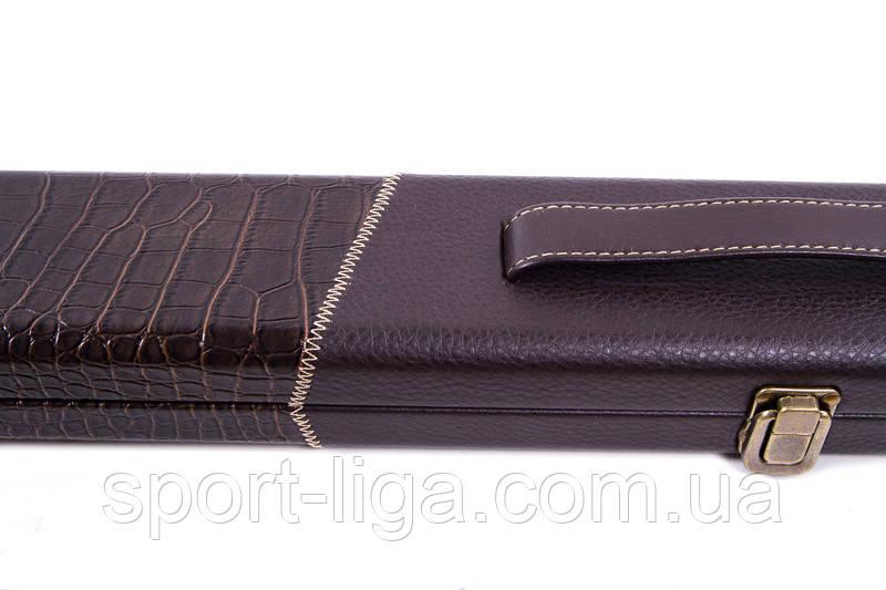 Чехол для бильярдного кия, кожаный, 120 см