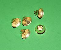 Колокольчик средний золото 717 поштучно, фото 1
