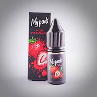 Солевая жидкость Hype My Pods Wild strawberry 10 мл для Juul и POD систем 59 мг, фото 1