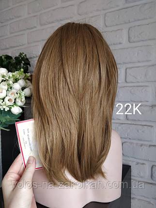 Парик короткая стрижка золотистый блонд  Корея, фото 2