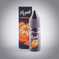 Солевая жидкость Hype My Pods Mandarin 10 мл для Juul и POD систем, фото 1