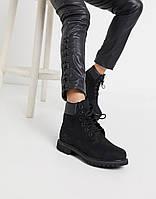 Жіночі черевики Timberland 6 Inch All Black