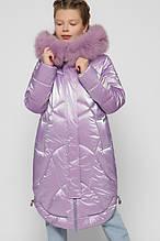 Стильна зимова куртка на дівчинку DT-8314,  р-ры 110,116,122