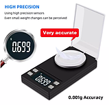 Цифровые ювелирные весы TN-20 ( 20 г, 0.001 г ), фото 2