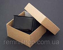 Чоловічий чорний ремінь текстильний + подарункова упаковка