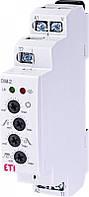 Реле управління лестн. освещ. з функцією диммера DIM-2 230V (до 500W_AC1), ETI, 2470009