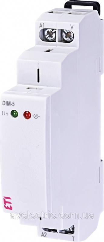 Диммер DIM-5 (до 500W_AC5b), ETI, 2470033