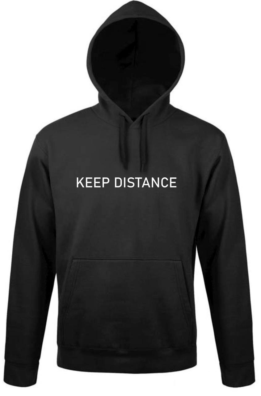Реглан с капюшоном Keep distance